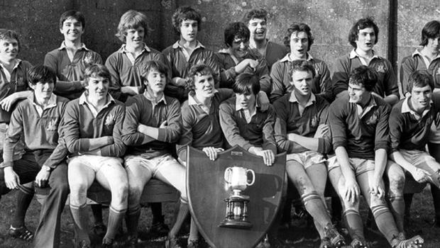 Bangor Grammar School won the traditional St. Patrick's Day Cup rugby final at Ravenhill, coming from behind in thrilling style to beat Annadale Grammar. 18/3/1978