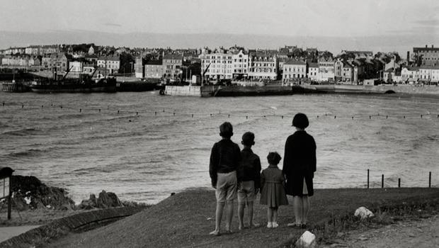 Bangor from Pickie Pool 19 March 1959