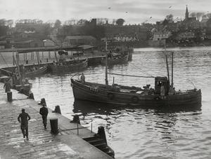 Ardglass - Fishing Boat coming in, date unknown