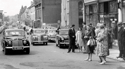 Broadway Junction, Ballymena. 28/5/1963