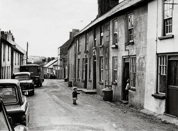 Co Down towns and villages Downpatrick - Bridge Street, 16 November 1967