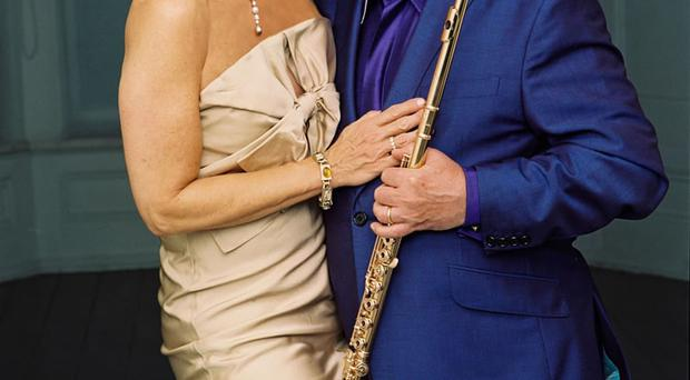 Sir James and Lady Jeannie Galway