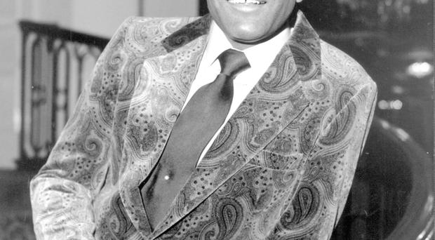 Charley Pride and The Crystal Chandeliers played Belfast in 1976