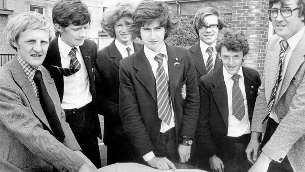 A group of sixth-formers will be helping to look after 100 handicapped children this summer- nearly 2,000 miles away in the steamy heat of Morocco. The boys from Bangor Grammar School have been invited by the Save The Children Fund to the northern tip of Africa, 1978.