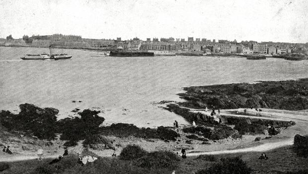 Bangor - from ladies bathing place, date unknown