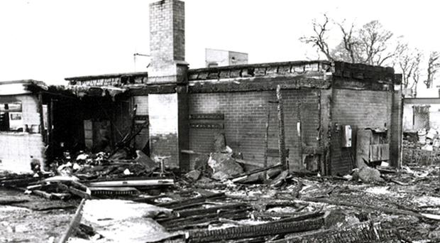 IRA Bomb attack on the La Mon House Hotel