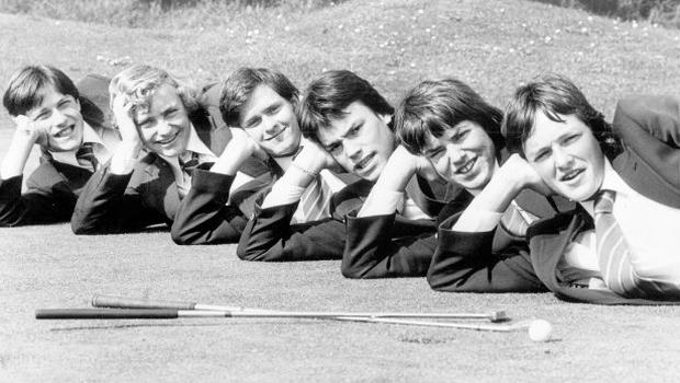 The boys of Bangor Grammar School have swept all before them this season. Four major trophy wins, in fact- in the Ulster Section of the Aer Lingus Schools' championship (in which they were third-best in the all-Ireland finals), and in the Ulster Schools' League and Froggart Shield championships, and Irish Schools' championship, 1978.