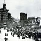 Covenant day in Belfast 28/09/1912