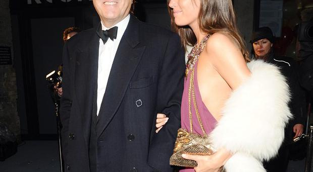 Bryan Ferry and Amanda Sheppard back in happier times