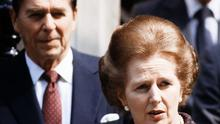 The tape supposedly held a recording of Ronald Reagan and Margaret Thatcher arguing over the Falklands War