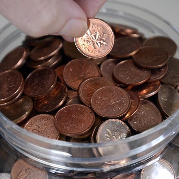 The Canadian penny is being phased out (AP/The Canadian Press)