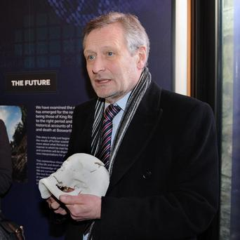 The mayor of Leicester Sir Peter Soulsby said plans are under way to bury King Richard III at Leicester Cathedral