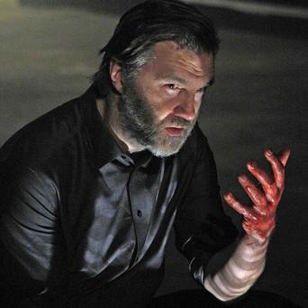 David Morrissey performs Macbeth at the Liverpool Everyman playhouse