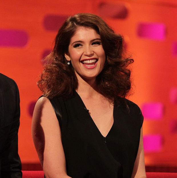 Gemma Arterton revealed a penchant for action on The Graham Norton Show