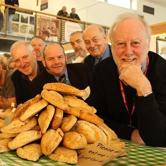 Head judge Dave Meneer leads his team of judges at the World Pasty Championships