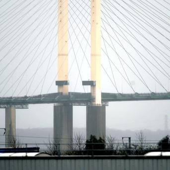 Kent Police helped a man with a fear of bridges through the Dartford Crossing