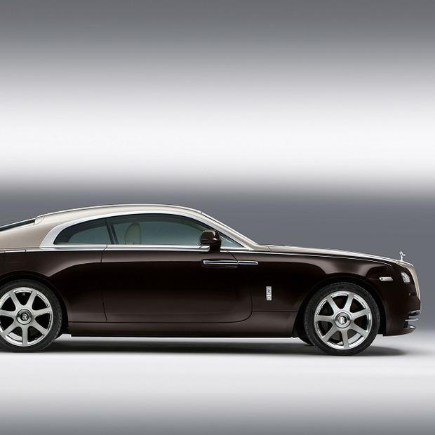The new Rolls-Royce Wraith has 1,340 fibre optic lamps hand-woven into the roof lining