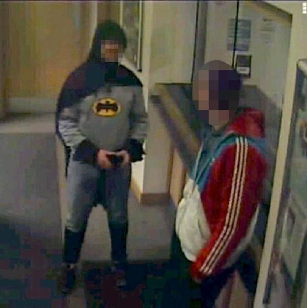 Stan Worby was dressed as comic book hero Batman when he took his friend to a police station (PA/West Yorkshire Police)
