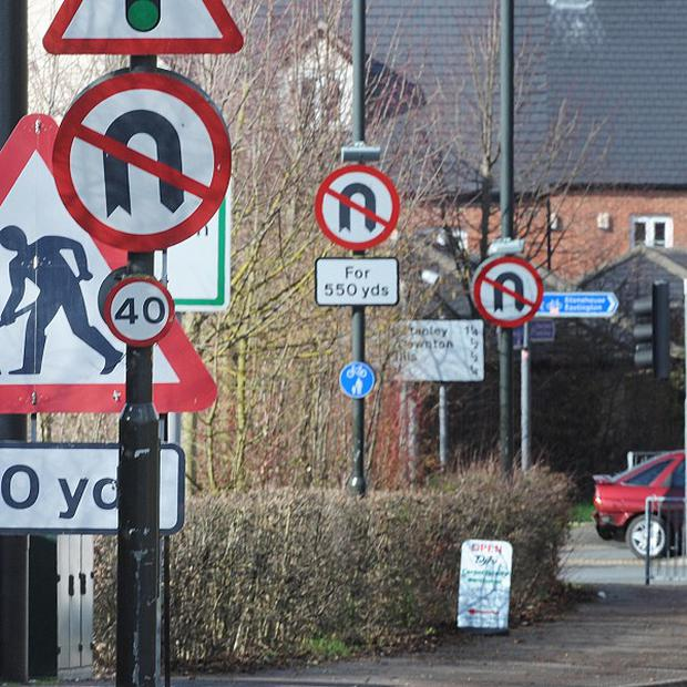 The Government wants to cut the number of signs spoiling towns, cities and countryside
