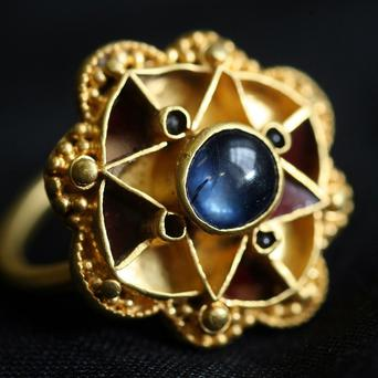 Archaeologists say the Escrick Ring is likely to be from the 5th or 6th century (York Museums Trust/PA)