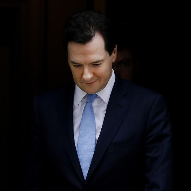 George Osborne has said that he is in competition with his shadow Ed Balls on Twitter