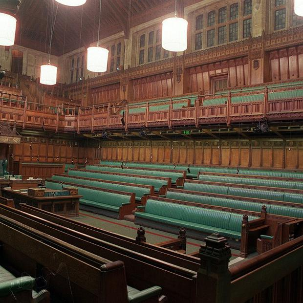 A Scout vomited on the benches in the House of Commons