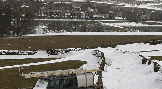 Many parts of the country have been affected by heavy snow