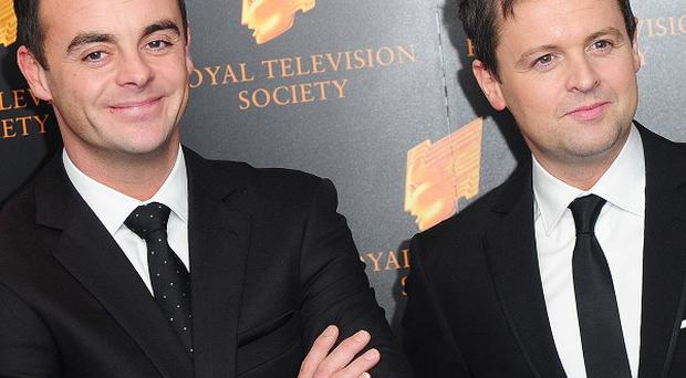 Ant and Dec had a run of hits in the mid-1990s, with nine songs in the top 40