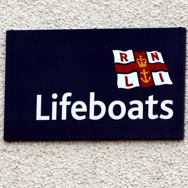 A dedicated RNLI volunteer slept at his station after the snow caused power problems