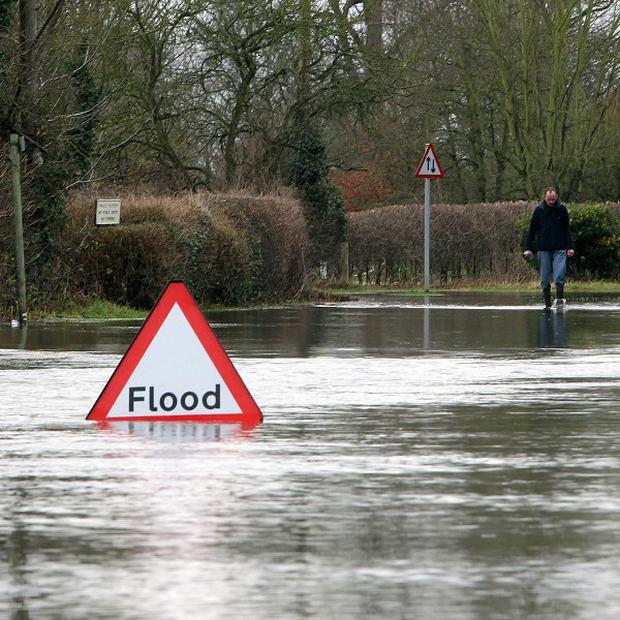April 2012 became the wettest on record despite a forecast sent to contingency planners suggesting it was likely to be drier than usual