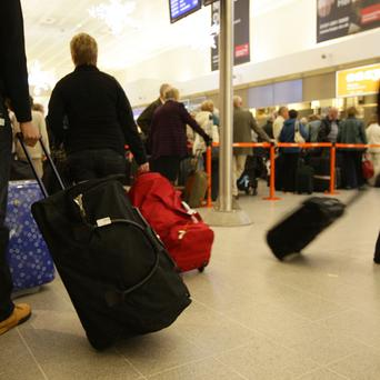 Security officials at Manchester Airport raised an alarm when a baggage scanner flagged up a suspicious image