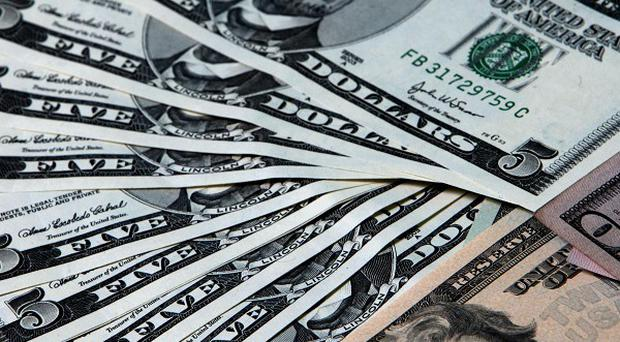 The word dollar entered the English language from German