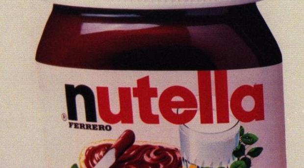 The estimated value of the stolen Nutella is 13,600 pounds