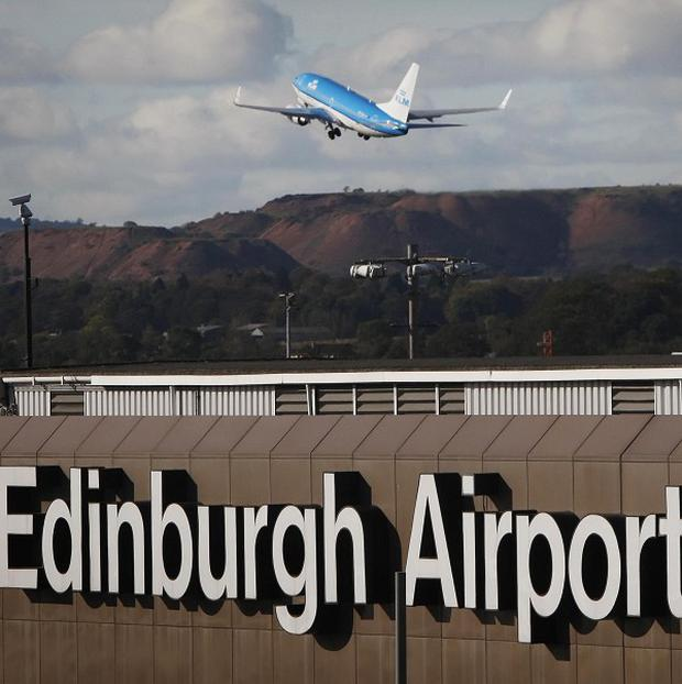 The Moderator's official ring and cross were lost at Edinburgh Airport