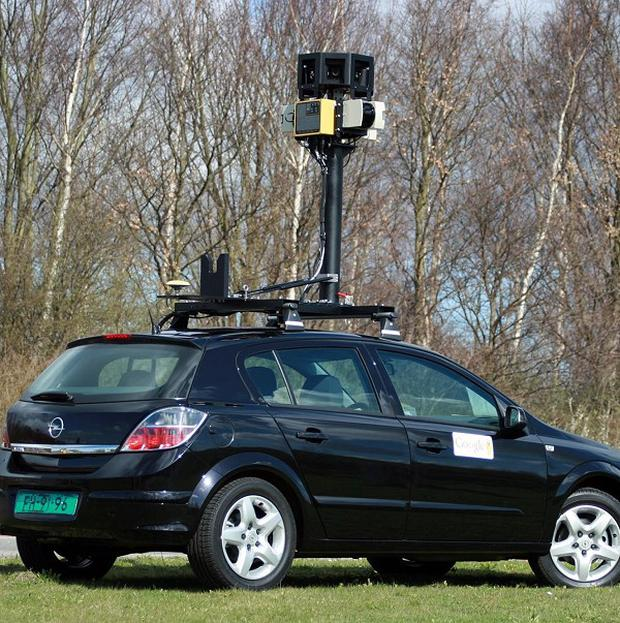Google's street mapping cars have helped Lithuanian officials find suspected tax dodgers (AP Photo/Google)