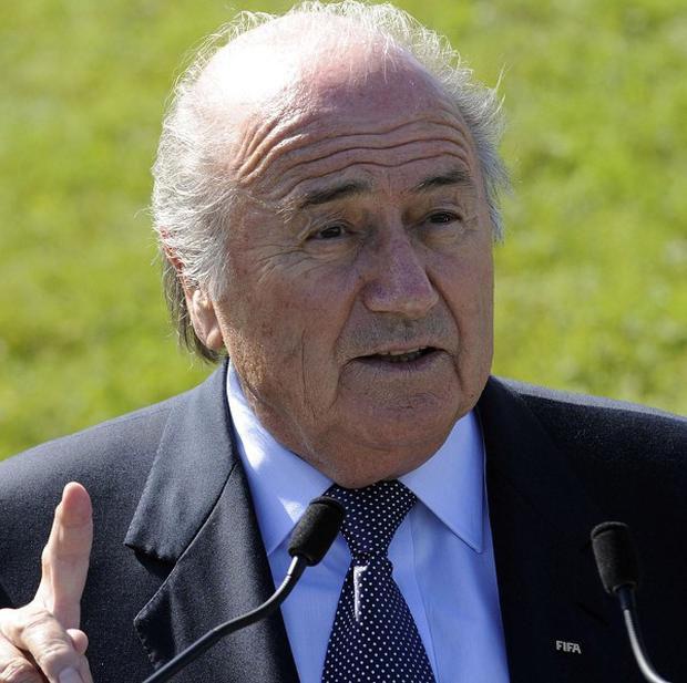 The Twitter account of FIFA President Sepp Blatter has been hacked