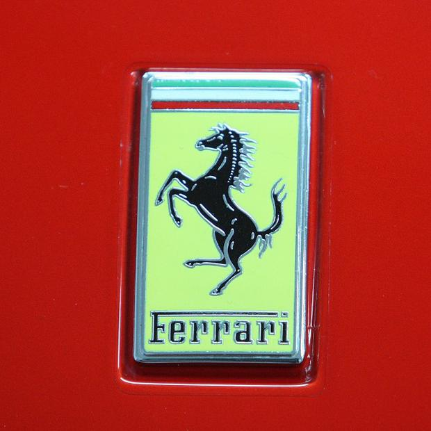 A nine-year-old Indian boy was allowed to drive his father's Ferrari
