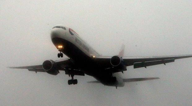 A passenger plane was involved in a near-miss with an unidentified flying object near Glasgow, a report has revealed