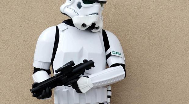 Trouble flared at a fair hosted by the Norwich Star Wars Club