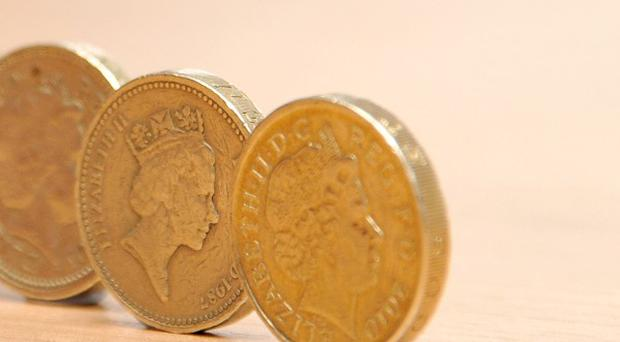 Three forgers have been jailed for making fake pound coins