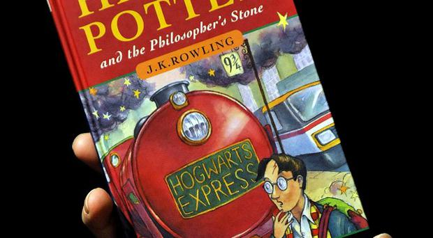 A first editor Harry Potter book annotated by author JK Rowling