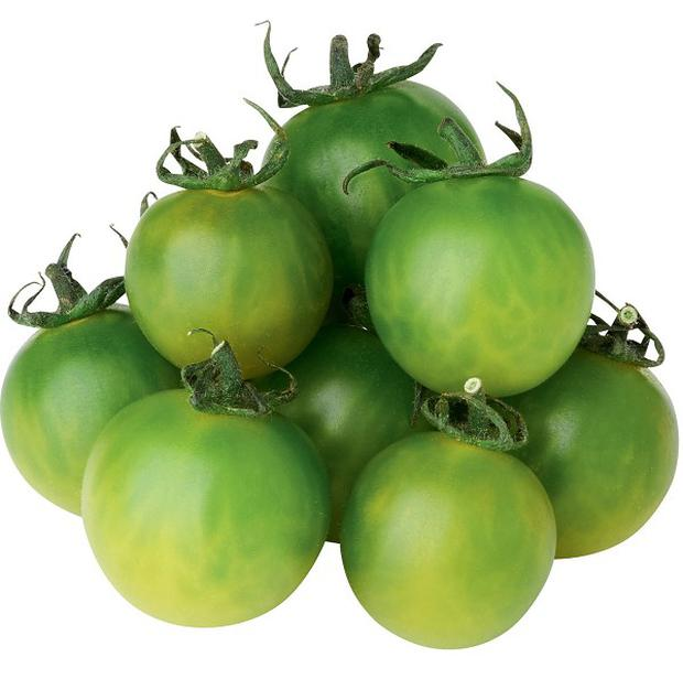 Grower Andy Roe has created 'the perfect tasting green tomato' (Marks and Spencer/PA)