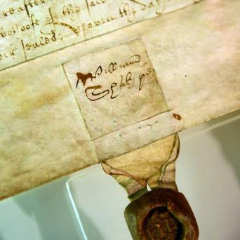 A deed containing the signature of William Shakespeare will go on show at the London Metropolitan Archives