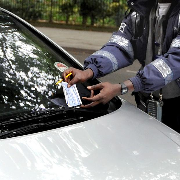 A driver who incurred 220 parking tickets and failed to pay the fines has had their car seized
