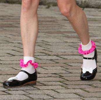 The school has ruled that ankle socks should have a frill of no more than 3cm