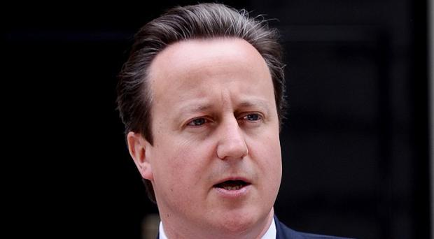 David Cameron admitted he sometimes works in his pyjamas before leaving Number 10