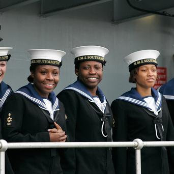The traditional Tuesday night toast to 'Our Men' has been changed to 'Our Sailors'