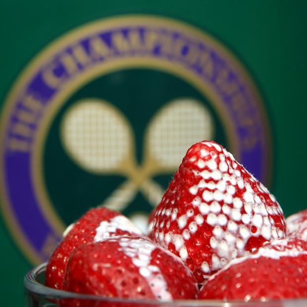 More than 8,000 punnets of strawberries are sold at Wimbledon each day