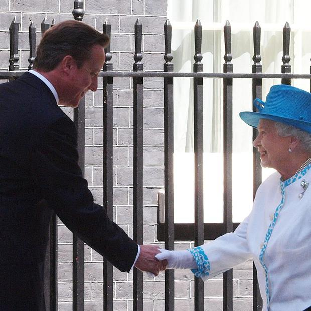 The Queen reportedly teased the Prime Minister about a scene in West End play The Audience