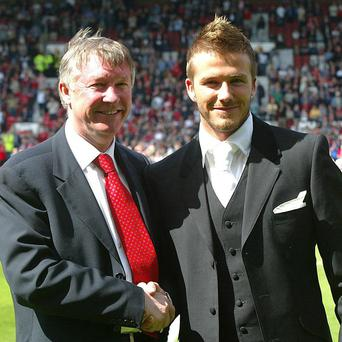 David Beckham and Sir Alex Ferguson will feature in The Beano